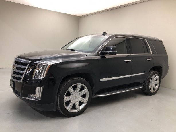 Used 2017 Cadillac Escalade for sale in Houston TX.  We Finance!
