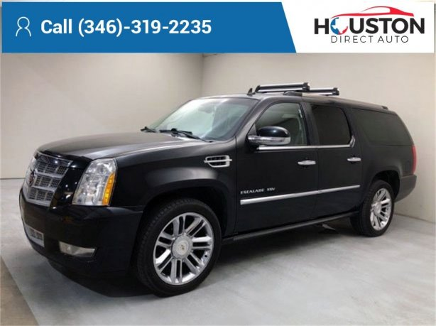 Used 2011 Cadillac Escalade ESV for sale in Houston TX.  We Finance!