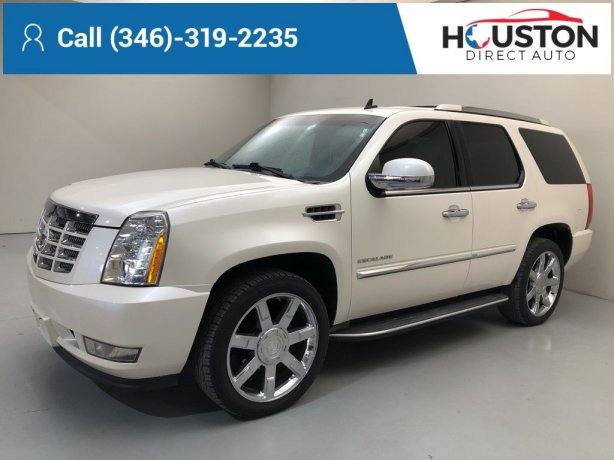 Used 2010 Cadillac Escalade for sale in Houston TX.  We Finance!