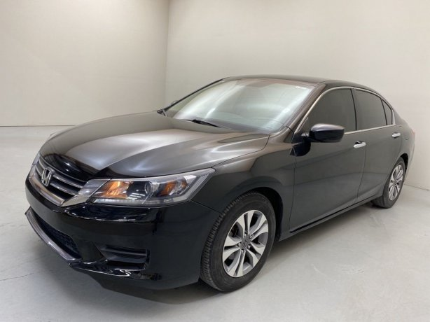 Used 2014 Honda Accord for sale in Houston TX.  We Finance!