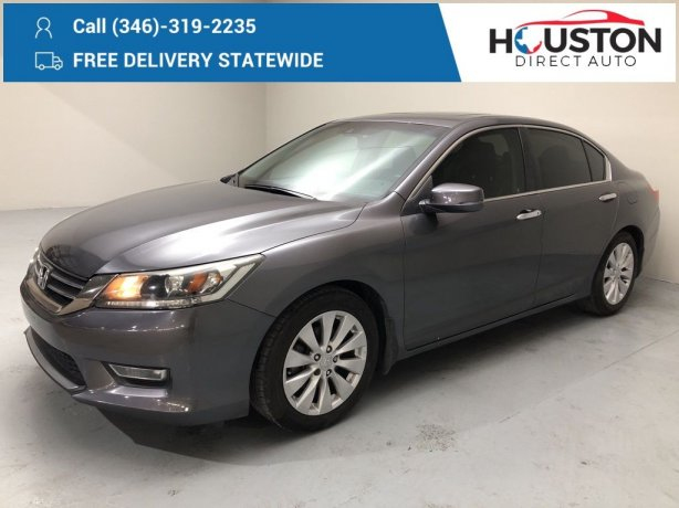 Used 2013 Honda Accord for sale in Houston TX.  We Finance!