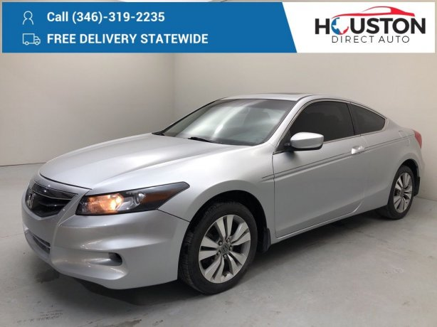 Used 2011 Honda Accord for sale in Houston TX.  We Finance!