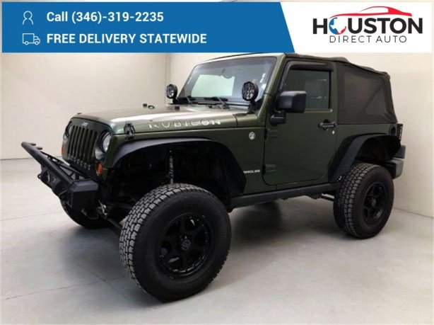 Used 2008 Jeep Wrangler for sale in Houston TX.  We Finance!