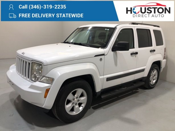 Used 2011 Jeep Liberty for sale in Houston TX.  We Finance!