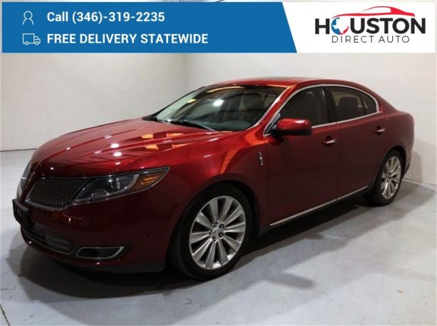 Used 2013 Lincoln MKS for sale in Houston TX.  We Finance!