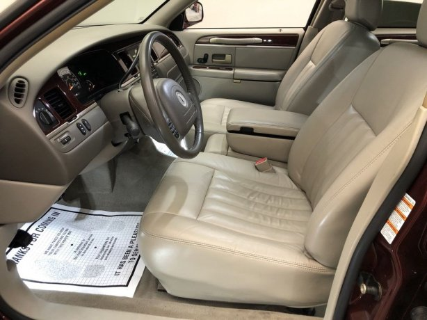 used 2004 Lincoln Town Car for sale Houston TX
