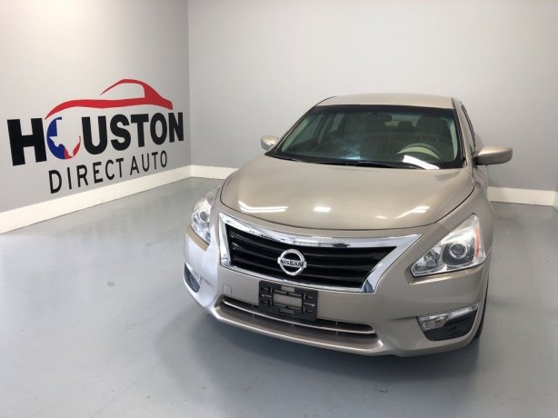 Used 2015 Nissan Altima for sale in Houston TX.  We Finance!