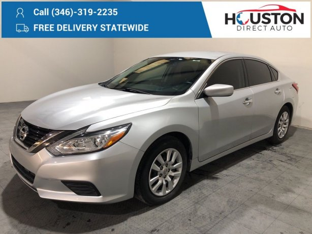 Used 2016 Nissan Altima for sale in Houston TX.  We Finance!