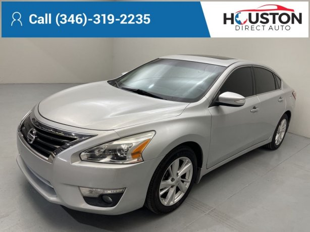 Used 2013 Nissan Altima for sale in Houston TX.  We Finance!