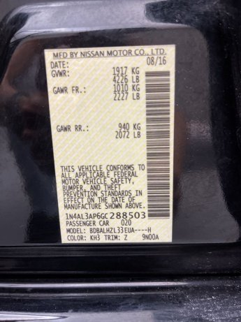 Nissan 2016 for sale near me