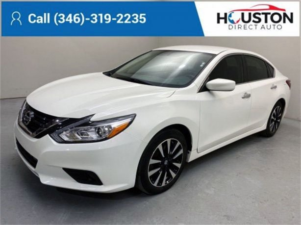 Used 2018 Nissan Altima for sale in Houston TX.  We Finance!