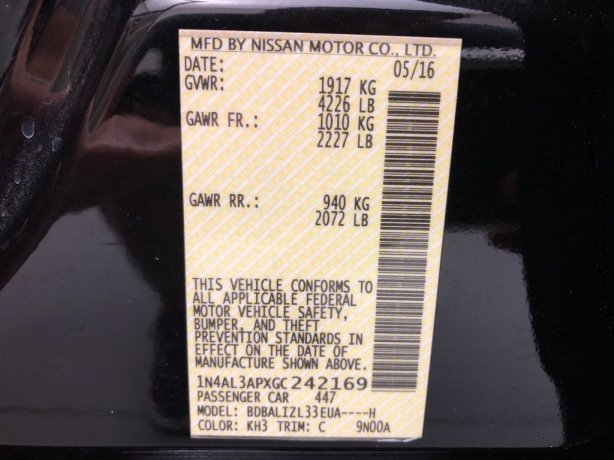 Nissan Altima cheap for sale