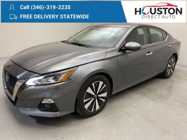 Used 2020 Nissan Altima for sale in Houston TX.  We Finance!