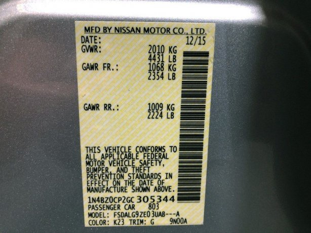Nissan Leaf cheap for sale near me