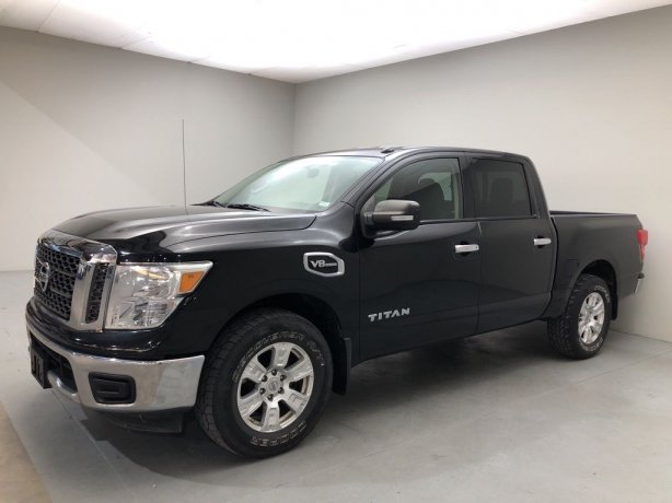 Used 2017 Nissan Titan for sale in Houston TX.  We Finance!