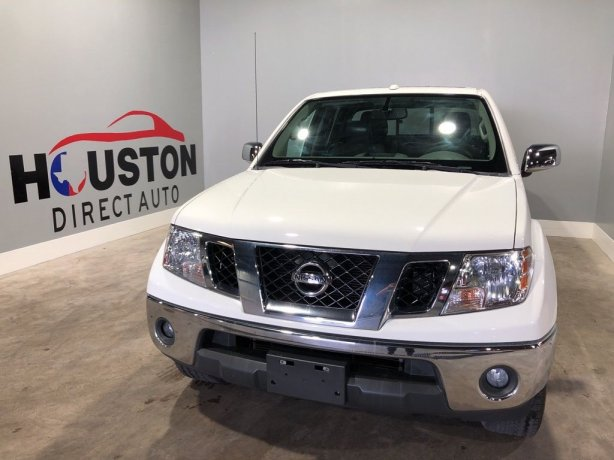 Used 2015 Nissan Frontier for sale in Houston TX.  We Finance!