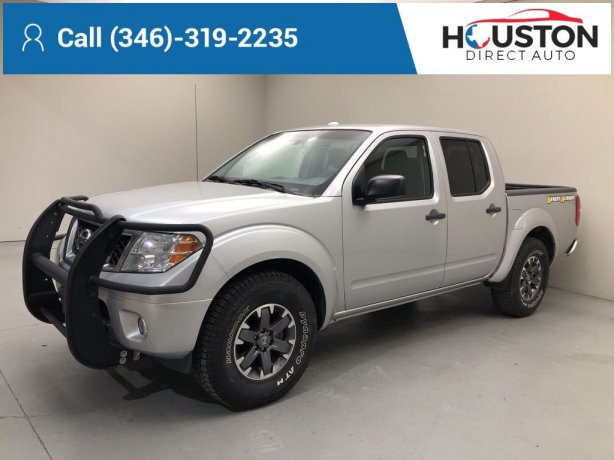 Used 2016 Nissan Frontier for sale in Houston TX.  We Finance!