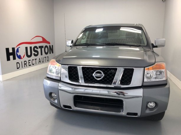 Used 2013 Nissan Titan for sale in Houston TX.  We Finance!