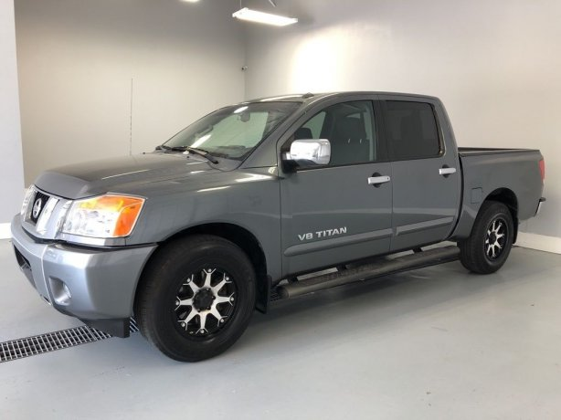 Used Nissan Titan for sale in Houston TX.  We Finance!
