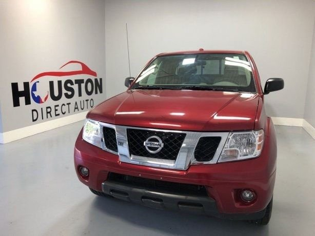 Used 2017 Nissan Frontier for sale in Houston TX.  We Finance!