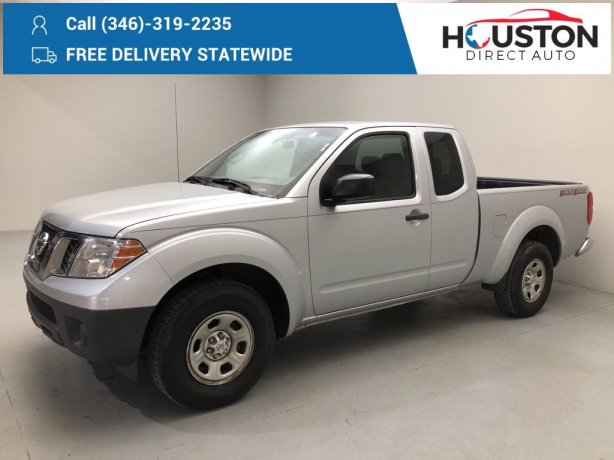Used 2014 Nissan Frontier for sale in Houston TX.  We Finance!