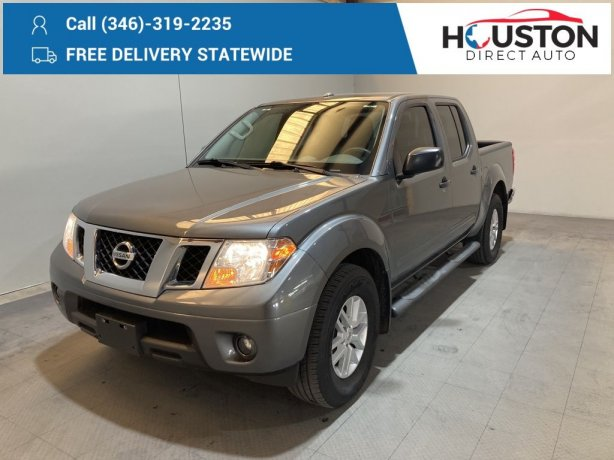 Used 2018 Nissan Frontier for sale in Houston TX.  We Finance!