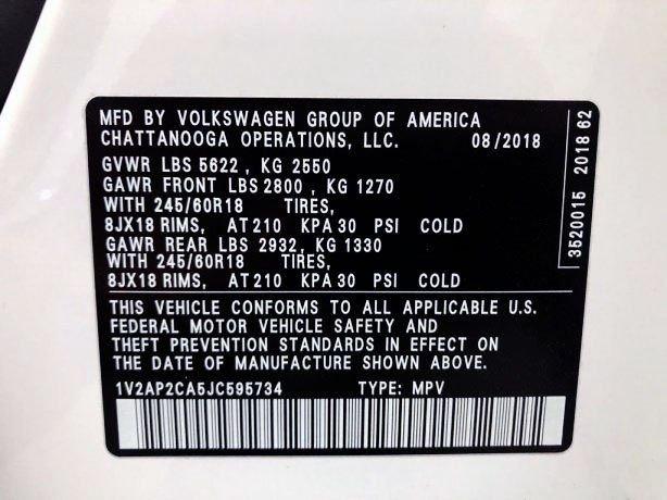 Volkswagen Atlas cheap for sale