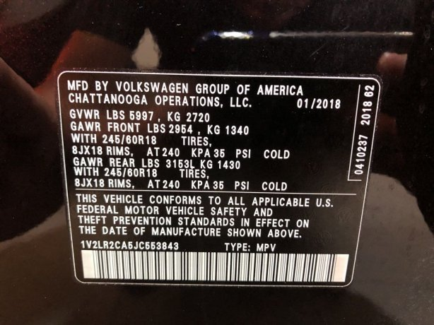 Volkswagen Atlas cheap for sale near me