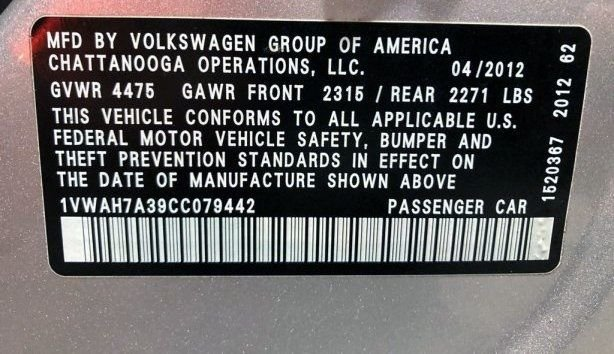 Volkswagen Passat cheap for sale near me