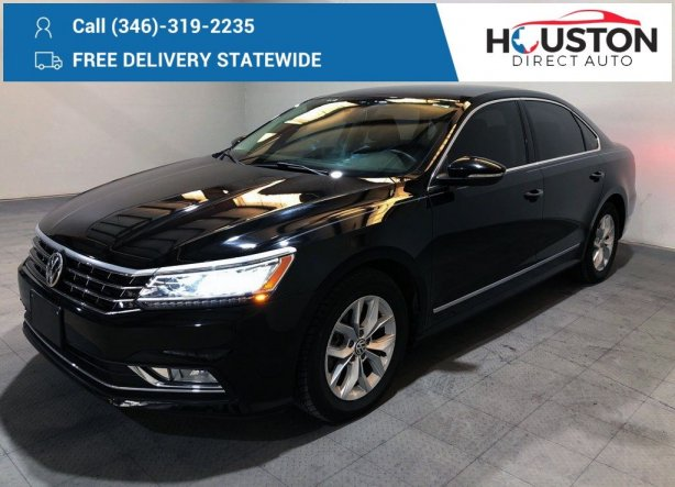 Used 2016 Volkswagen Passat for sale in Houston TX.  We Finance!