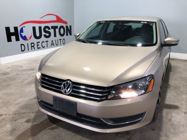 Used 2015 Volkswagen Passat for sale in Houston TX.  We Finance!