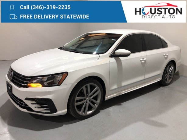 Used 2016 Volkswagen Passat for sale in Houston TX.  We Finance!