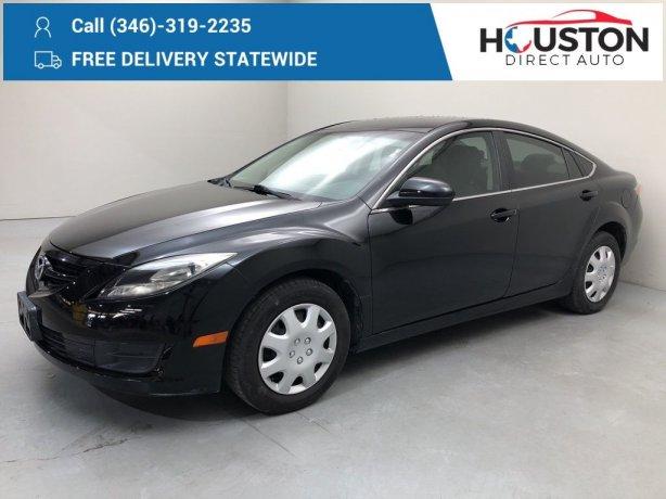 Used 2012 Mazda Mazda6 for sale in Houston TX.  We Finance!