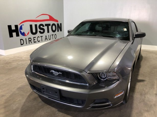 Used 2014 Ford Mustang for sale in Houston TX.  We Finance!