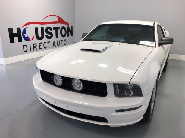 Used 2007 Ford Mustang for sale in Houston TX.  We Finance!