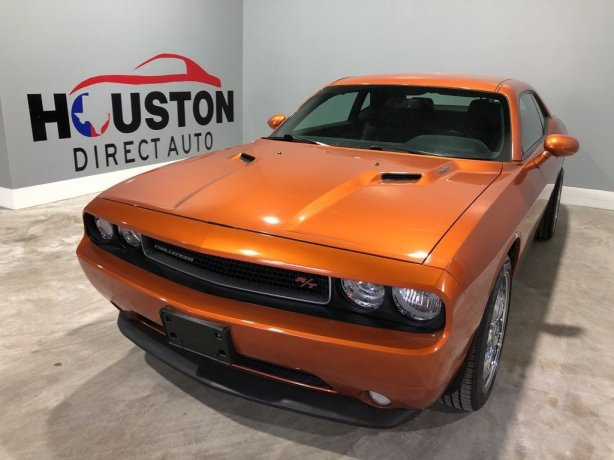 Used 2011 Dodge Challenger for sale in Houston TX.  We Finance!