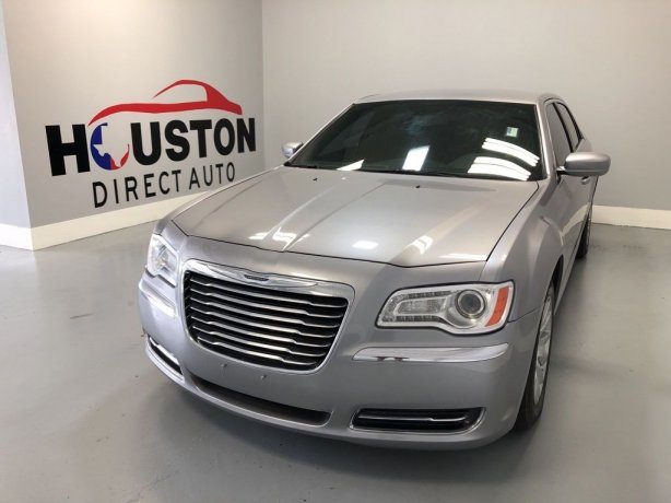 Used 2014 Chrysler 300 for sale in Houston TX.  We Finance!