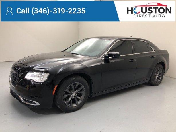 Used 2015 Chrysler 300 for sale in Houston TX.  We Finance!