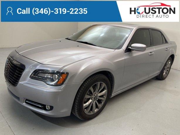Used 2014 Chrysler 300 for sale in Houston TX.  We Finance!