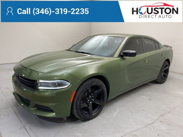 Used 2018 Dodge Charger for sale in Houston TX.  We Finance!