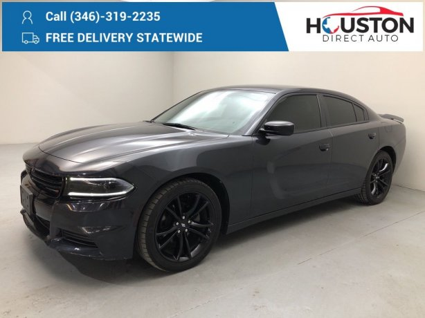 Used 2017 Dodge Charger for sale in Houston TX.  We Finance!