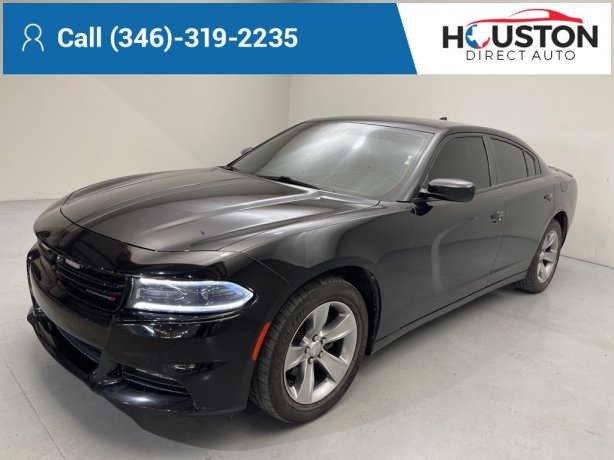 Used 2015 Dodge Charger for sale in Houston TX.  We Finance!