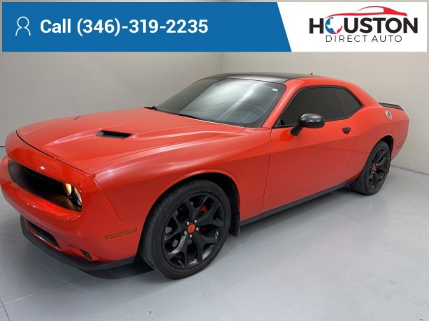Used 2017 Dodge Challenger for sale in Houston TX.  We Finance!