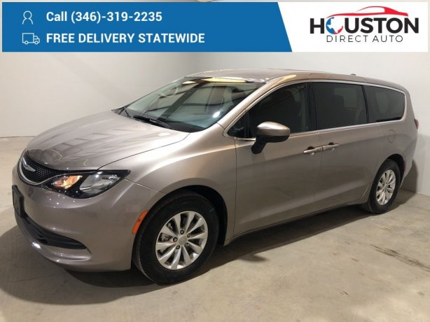 Used 2018 Chrysler Pacifica for sale in Houston TX.  We Finance!