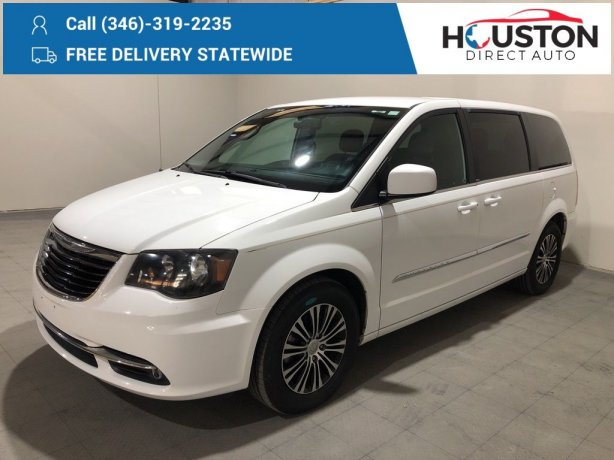 Used 2014 Chrysler Town & Country for sale in Houston TX.  We Finance!