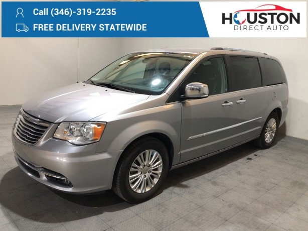 Used 2016 Chrysler Town & Country for sale in Houston TX.  We Finance!