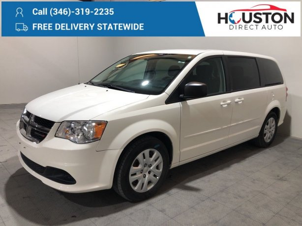 Used 2013 Dodge Grand Caravan for sale in Houston TX.  We Finance!