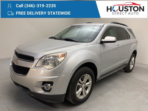 Used 2010 Chevrolet Equinox for sale in Houston TX.  We Finance!