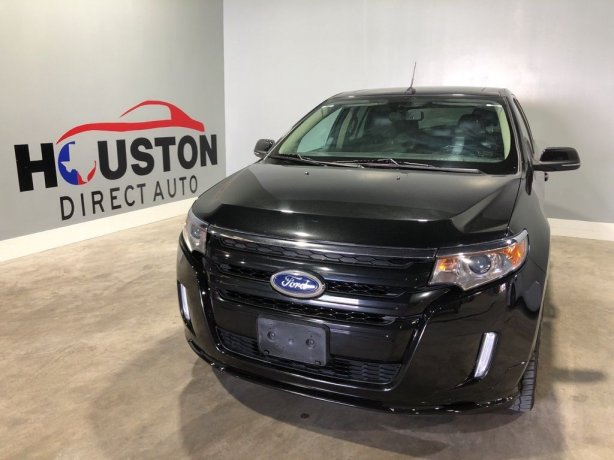 Used 2014 Ford Edge for sale in Houston TX.  We Finance!