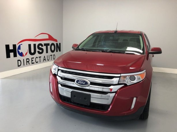 Used 2013 Ford Edge for sale in Houston TX.  We Finance!